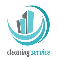 cleaning houses2 vector image vector image