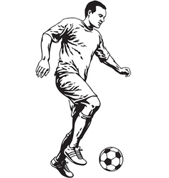 Soccer Football Player vector image