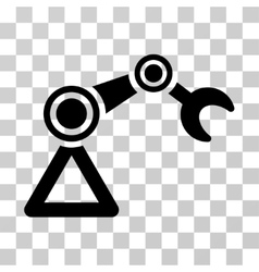 Manipulator equipment icon vector