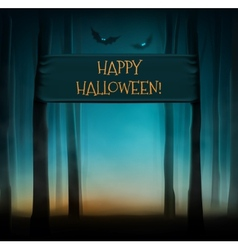 Happy Halloween vector image
