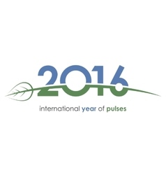 2016 pulses international year of pulses green vector