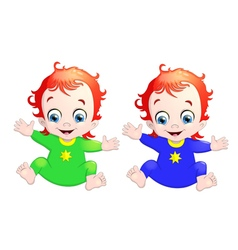 Very cute children vector