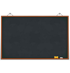 Big blackboard vector