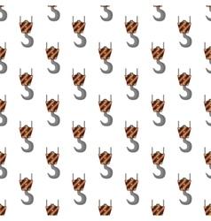 Crane pattern seamless vector
