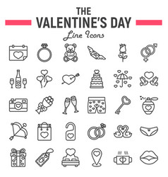 Wedding Rings Line And Glyph Icon Vector 19721292