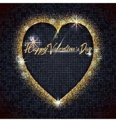 Valentines day - typographic calligraphic vector image