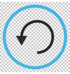 Rotate ccw icon vector