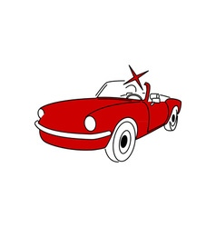 Oldtimer-Cabriolet-380x400 vector image