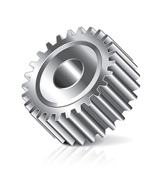 object gear vector image vector image