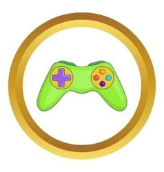 Game controller icon vector image