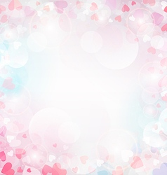 Romantic background vector