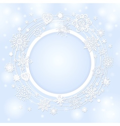 Background for the christmas text vector