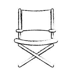 Director chair symbol vector