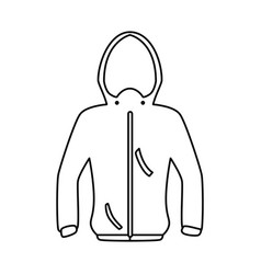 fashion winter clothes vector image