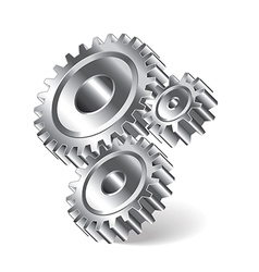object gears vector image vector image