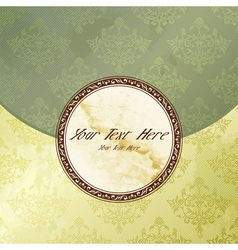victorian vintage emblem vector image vector image