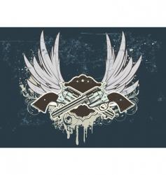 sheriff insignia vector image
