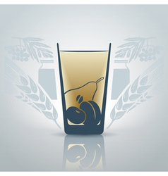 Glassofjuice vector