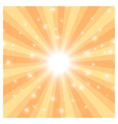 sun ray3 vector image