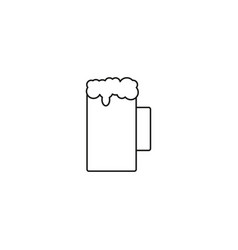 beer icon isolated beer symbol design eps 10 vector image vector image