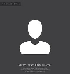 business avatar premium icon vector image