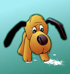 dog toys vector image vector image