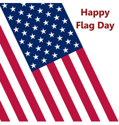 flag united states vector image vector image