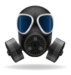 Gas mask 01 vector