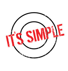 It s simple rubber stamp vector