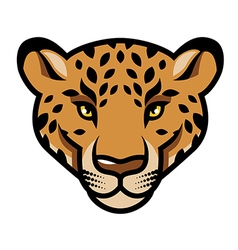 Leopard calm vector