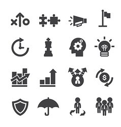 marketing strayegy icon vector image vector image