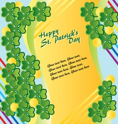 Patricks Day vector image vector image