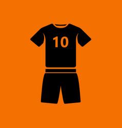 Soccer uniform icon vector