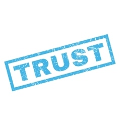 Trust rubber stamp vector