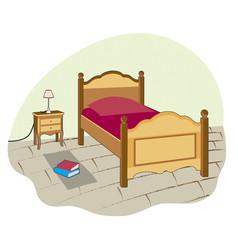 Small bedroom vector