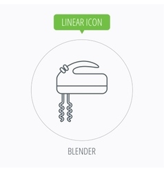 Blender icon mixer sign vector