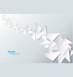 abstract background created with triangles vector image vector image