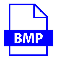 File name extension bmp type vector