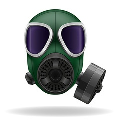 Gas mask 02 vector
