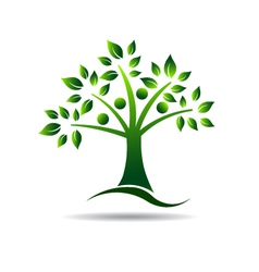 People tree Concept for Family tree natural life vector image vector image