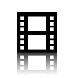 Film isolated icon vector