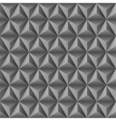 Abstract background with black pyramids vector