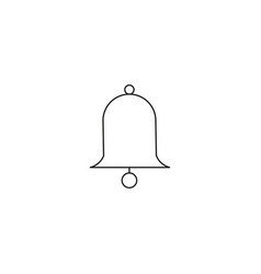 Bell icon bell sign vector