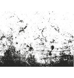 Distressed overlay texture of dust metal cracked vector
