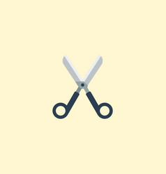 flat icon scissors element of vector image vector image