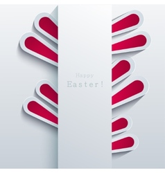 modern easter bunny background Eps 10 vector image vector image