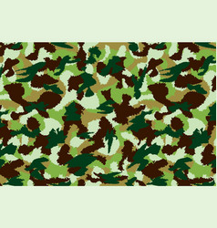 War universal nature camouflage seamless pattern vector