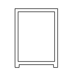Board menu object vector