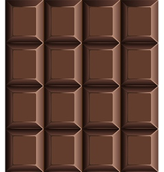 Chocolate bar seamless pattern vector