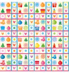 Christmas background wrapping paper vector